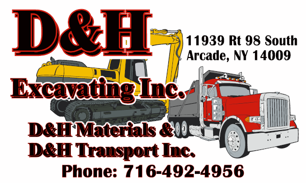 D and H Excavating, Inc., Arcade, NY