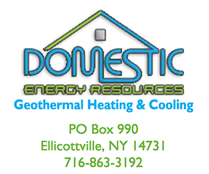 Geothermal Heating and Cooling in Western New York with Domestic Energy Resources